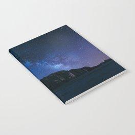 Milky Way Over Wadi Rum Notebook