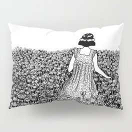 The Field of Poppies Pillow Sham