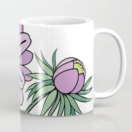 Abstract flowers branch Coffee Mug