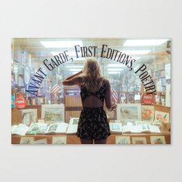 Rare books Canvas Print