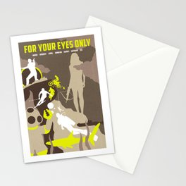 James Bond Golden Era Series :: For Your Eyes Only Stationery Cards