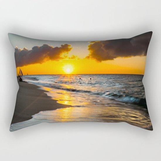 Boracay Sunset Rectangular Pillow