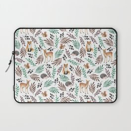 Cute forest. Watercolor Laptop Sleeve