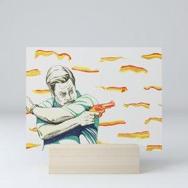 Ron Swanson Mini Art Print