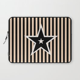 The Greatest Star! Black and Cream Laptop Sleeve