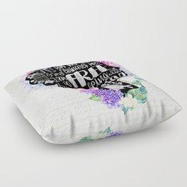 Jane Eyre - No Bird Floor Pillow