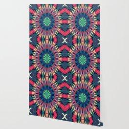 Cool Warmth Retro Geometry #1 Wallpaper