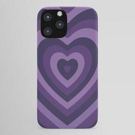 Amethyst Hypnohearts iPhone Case
