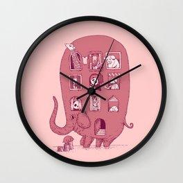 Elephant Bus - FatPanda Wall Clock