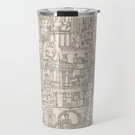 Ancient Greece natural Travel Mug