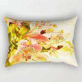 Freesia Postcard Rectangular Pillow
