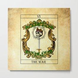 Tarot - The war Metal Print