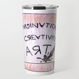 Immagination Creativity Art Artist Gifts Travel Mug