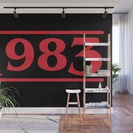 Strange 1983 Wall Mural