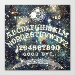Ouija Board (Celestial Version) Canvas Print