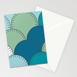 Patched Up Stationery Cards