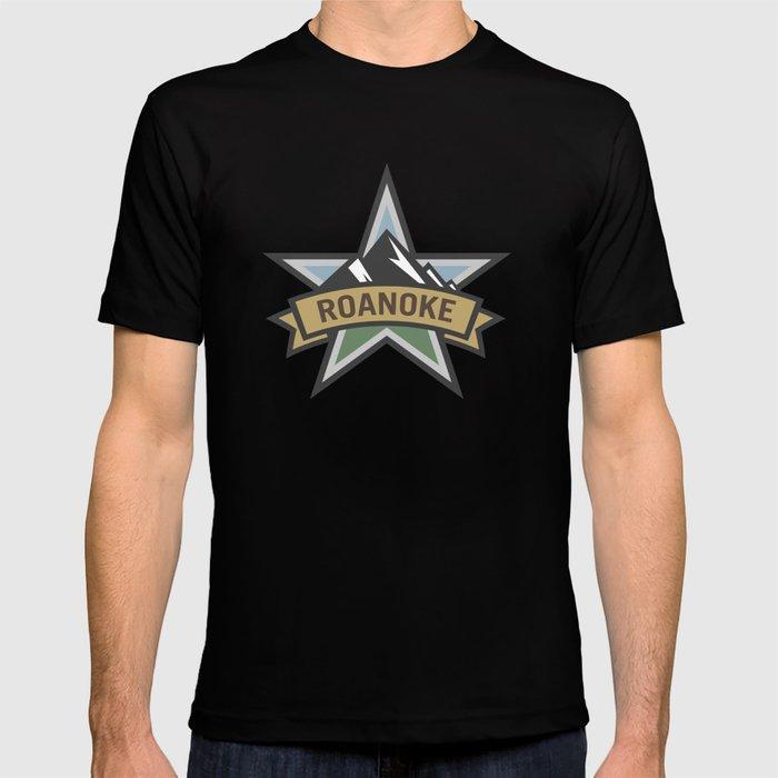 Roanoke Virginia Star City Pride Logo T-shirt