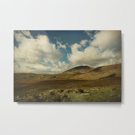 Irish Skies Metal Print