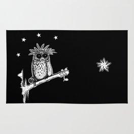 Metal Owl Rug