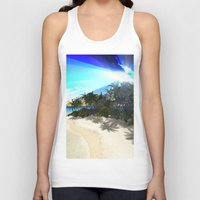 island Tank Tops featuring Island by nicky2342