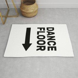 Dance Floor (arrow point right) Rug