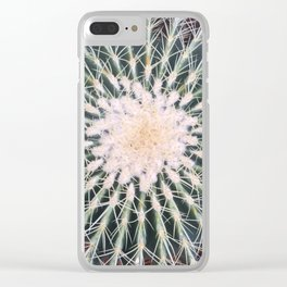 Cactus crown Clear iPhone Case