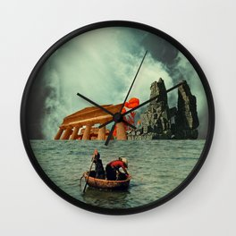 We Are All Fishermen Wall Clock