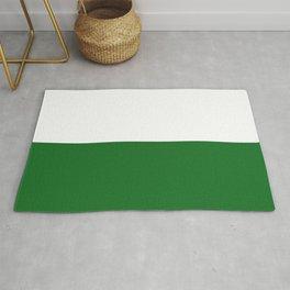 flag of Sachsen (saxony) Rug