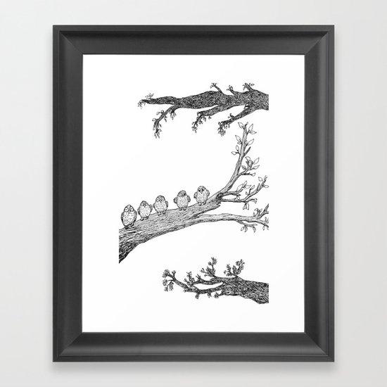 Awake Framed Art Print