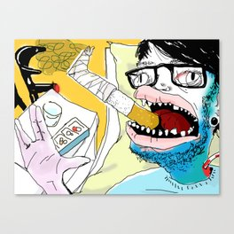 A'IGHTY THEN. Canvas Print