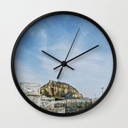 Beyond the Cages Wall Clock