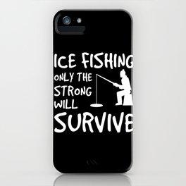 Fishing  Angel Fish Harpoon Trident iPhone Case