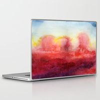radiohead Laptop & iPad Skins featuring Where I End And You Begin by Jacqueline Maldonado