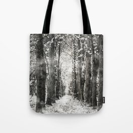 Infrared and symmetry Tote Bag