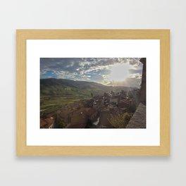 Sperlinga, Sicily Framed Art Print