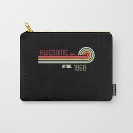 April 1968 53 th Birthday Years Old Carry-All Pouch