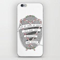 mistletoe & holly iPhone & iPod Skin