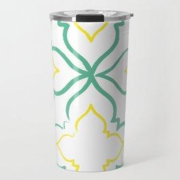 Alhambra Tile Pattern Travel Mug