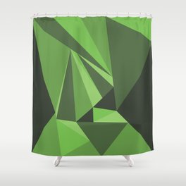 In to the Wild Shower Curtain