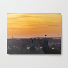 Early Spring Sunset in Portland, Maine Metal Print