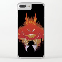 My Hero Clear iPhone Case
