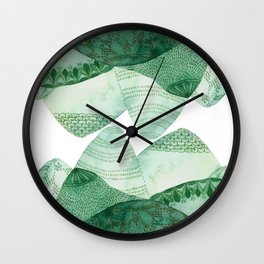 Green Hills Wall Clock