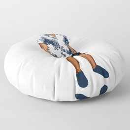 Summer Floor Pillow