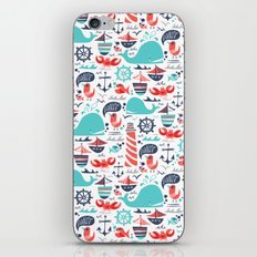 Ahoy Matey iPhone & iPod Skin