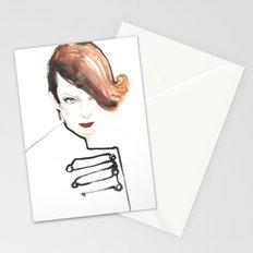 Readhead woman Stationery Cards