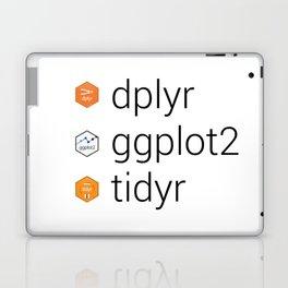 Tidyverse libraries: dplyr, ggplot2, tidyr Laptop & iPad Skin