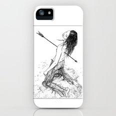 asc 156 - La flèche noire iPhone (5, 5s) Slim Case