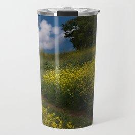 Almaden Meadows' Mustard Blossoms Travel Mug