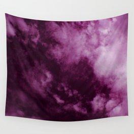 Magenta Sky Wall Tapestry