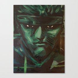 snake codec Canvas Print